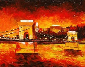 Kristin Crestejo - Hungary Chain Bridge