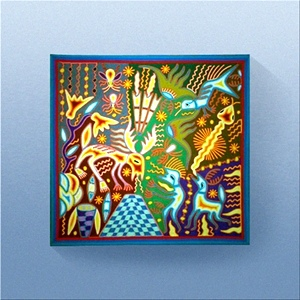 Silver Eagle Artist Bearer - Casa Huichol