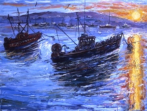 Arthur Robins - Monterey Dock Two