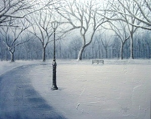 Allan Linder - Winter In Park