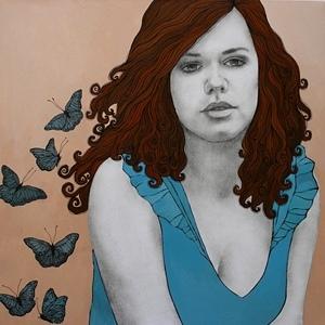 Just A Girl | Olga Gouskova - Belgium Artist
