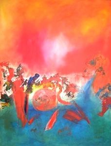 Mardi gras | Hubert König - Berliner Künstler