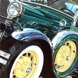 Artist Bobbie Crews | Automotive Artist From KnoxVegas, Tennessee
